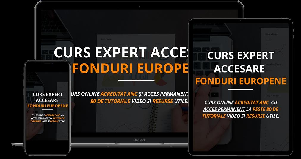 Curs Online Expert Accesare Fonduri Nerambursabile